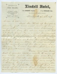 Thumbnail of Letter from Tom Marshall to Louisa Gass
