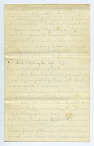 Thumbnail of Letter from unidentified correspondent