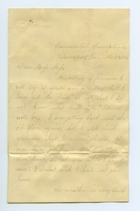 Thumbnail of Letter from Helen Pepper to Louisa Gass