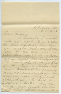Thumbnail of Letter from Adeline Kessel to Louisa Gass