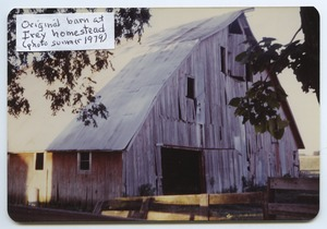 Thumbnail of Barn at the Irey homestead