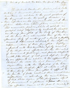 Thumbnail of Letter from Samuel Fowler Lyman to Friends of Free Soil, labor, speech, and man