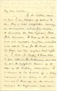 Thumbnail of Letter from Joseph Lyman to Catherine Robbins Lyman