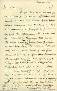 Thumbnail of Letter from Frank Lyman to Howard A. Dalton