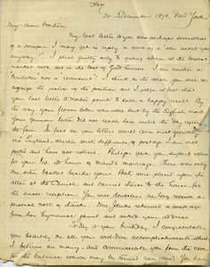 Letter from Joseph Lyman to Frank Lyman