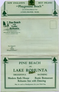 Thumbnail of Pine Beach on Lake Rohunta 'The ideal field day resort'