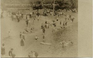 Thumbnail of Bathing Lake, Lake Rohunta, Athol-Orange, Mass.