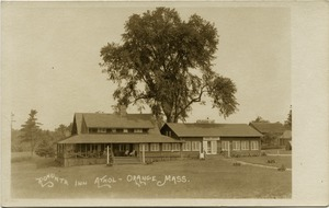 Thumbnail of Rohunta Inn, Lake Rohunta, Athol, Mass.