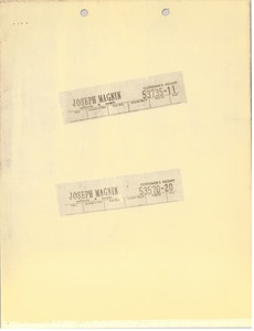 Thumbnail of Joseph Magnin, Inc. receipts