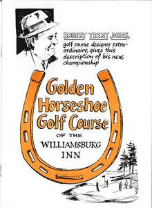 Thumbnail of Golden Horseshoe Golf Course Brochure