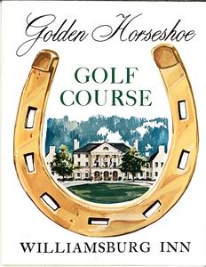 Thumbnail of Golden Horseshoe Golf Course score card