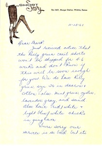Thumbnail of Letter from Barbara McIntire to Mark H. McCormack