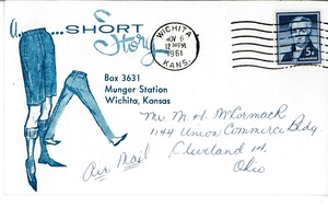 Thumbnail of Postcard from Barbara J. McIntire to Mark H. McCormack