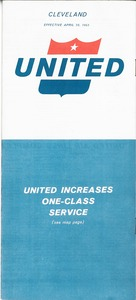 Thumbnail of United Airlines brochure