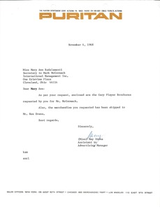 Thumbnail of Letter from May Stoke to Mary Ann Badalamenti