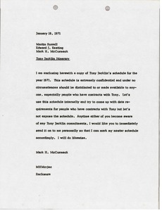 Thumbnail of Memorandum from Mark H. McCormack to Martin S. Sorrell and Edward J. Keating