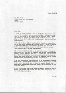 Thumbnail of Letter from Mark H. McCormack to Bob Toski
