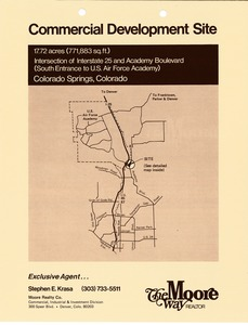 Thumbnail of Brochure for commercial development site in Colorado Springs, Colorado