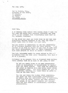 Thumbnail of Letter from Mark H. McCormack to Ray H. Herzog