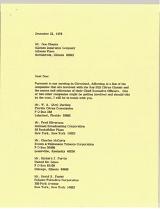 Thumbnail of Letter from Mark H. McCormack to Don Chapin