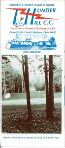 Thumbnail of Thunder Hill Country Club brochure