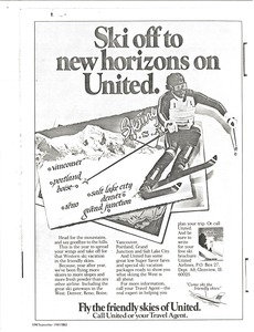 Thumbnail of Andre Arnold and United Airlines advertisement