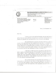 Thumbnail of Letter from Paolo Angeli to Eric Drossard