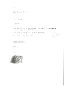 Thumbnail of Memorandum from Mark H. McCormack to Michael Halstead