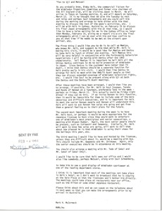 Thumbnail of Memorandum from Mark H. McCormack to Uji and Matsuki