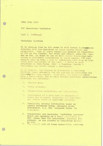 Thumbnail of Memorandum from Mark H. McCormack to International Management Group executives             worldwide