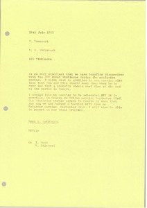 Thumbnail of Memorandum from Mark H. McCormack to E. Drossart