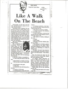 Thumbnail of Like a Walk on the Beach