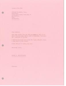Letter from Mark H. McCormack to Michael Bonallack