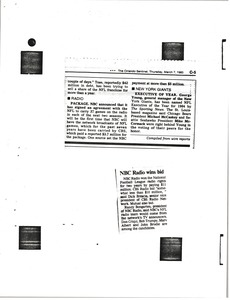 Thumbnail of National Broadcasting Company articles