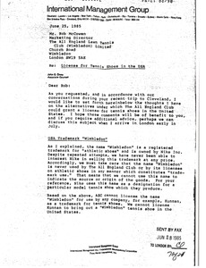 Thumbnail of Letter from John S. Oney to Rob McCowen