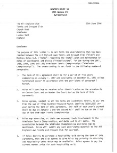 Thumbnail of Montres Rolex SA Draft Letter