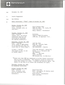 Thumbnail of Memorandum from Ayn Robbins to Laurie Roggenburk