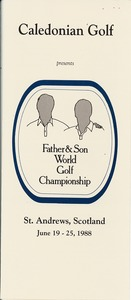 Thumbnail of Caledonian Golf Father and Son World Golf Championship brochure
