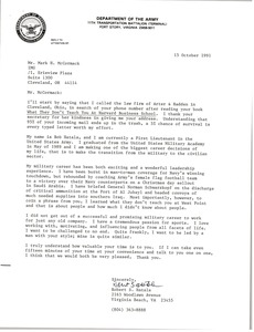 Thumbnail of Letter from Robert S. Hatala to Mark H. McCormack