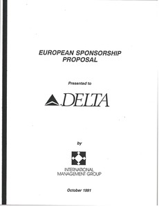 Thumbnail of European sponsorship proposal