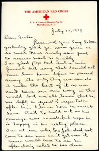 Thumbnail of Letter from Charles E. Jackson to sister