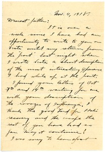 Thumbnail of Letter from Brainerd Taylor to James B. Taylor