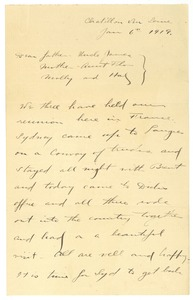 Thumbnail of Letter from Brainerd Taylor, Sydney, and Richard M. Hill to James B. Taylor