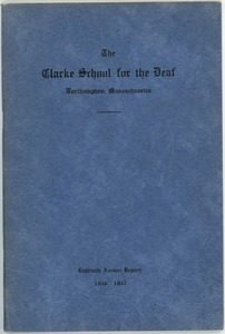 Thumbnail of Eightieth Annual Report of the Clarke School for the Deaf, 1946-1947
