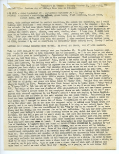 Letter from Carl Henry to Edith Henry