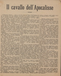 Thumbnail of Il cavallo dell'apocalisse