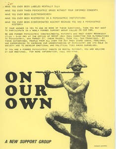 Thumbnail of On our own: a new support group