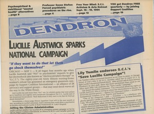 Thumbnail of Dendron Psychiatric Survivors & Allies madness support network no. 35 Summer 1994