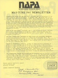 Thumbnail of NAPA May-June 1981 newsletter