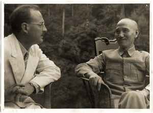 Thumbnail of Owen Lattimore and Chiang Kai-Shek